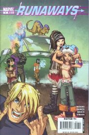 Runaways 3 #1 (2008) Marvel comic book